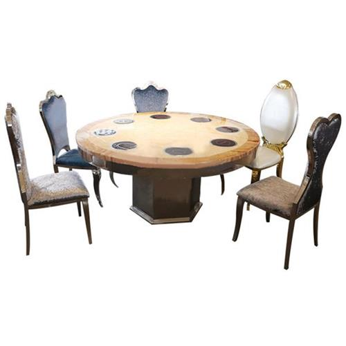 大理石火锅桌-31