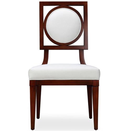 水曲柳实木布艺软包火锅椅子