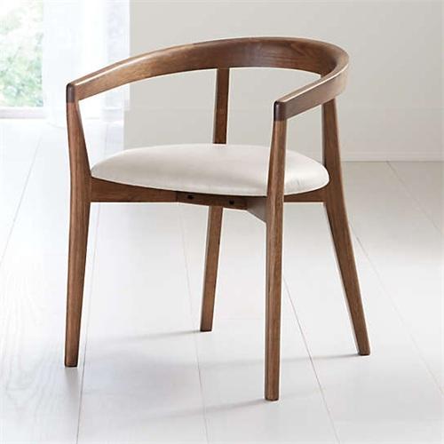 日式料理休闲简约实木椅子