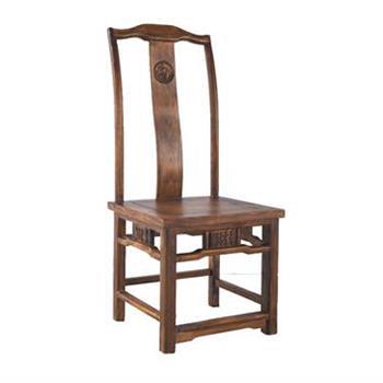 火锅店专用餐椅仿古实木椅子