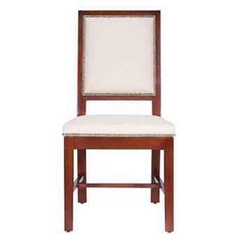 美式乡村田园 实木火锅椅子
