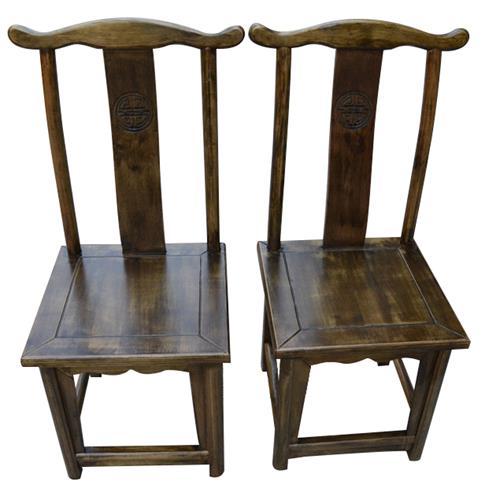 小龙坎火锅店仿古中式实木餐椅