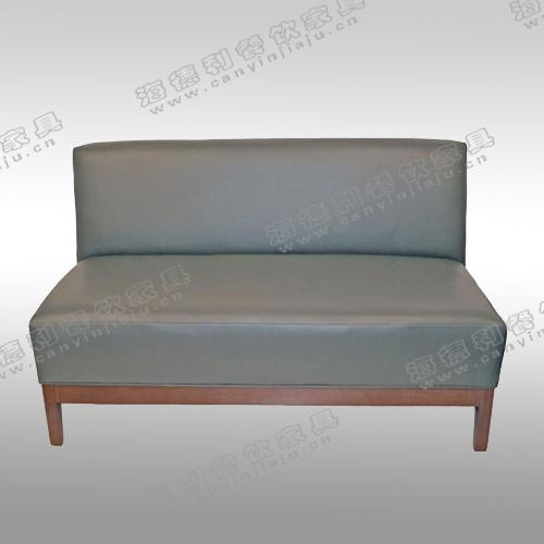皮制卡座沙发 供应皮质双人沙发 火锅店时尚卡座沙发