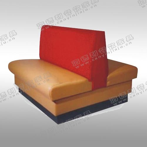 沙发直供 皮艺沙发 火锅店双面卡座沙发 时尚双人卡座沙发