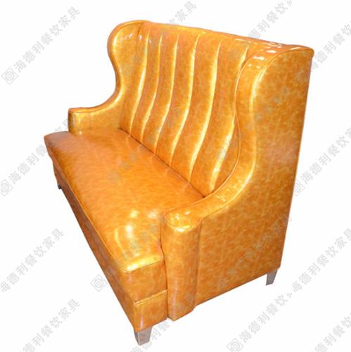 时尚双人沙发 餐厅简约卡座沙发 火锅店沙发