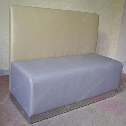 酒店宴会厅休闲时尚卡座沙发 火锅店双人卡座沙发