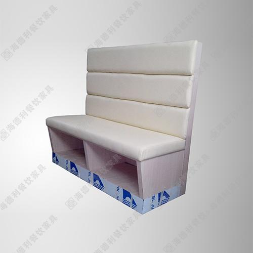 西餐厅双人沙发 布艺软体卡座沙发定制 火锅店时尚卡座沙发