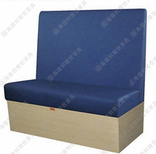 双人卡座沙发 休闲沙发 餐厅沙发 火锅店时尚卡座沙发