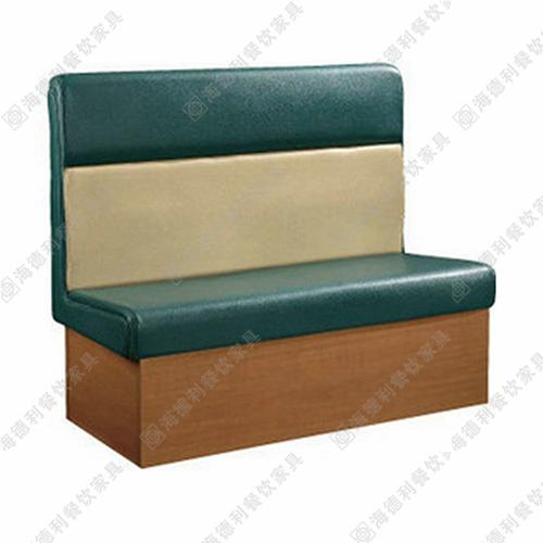 火锅店双人沙发 餐厅沙发 布艺沙发 咖啡厅卡座沙发