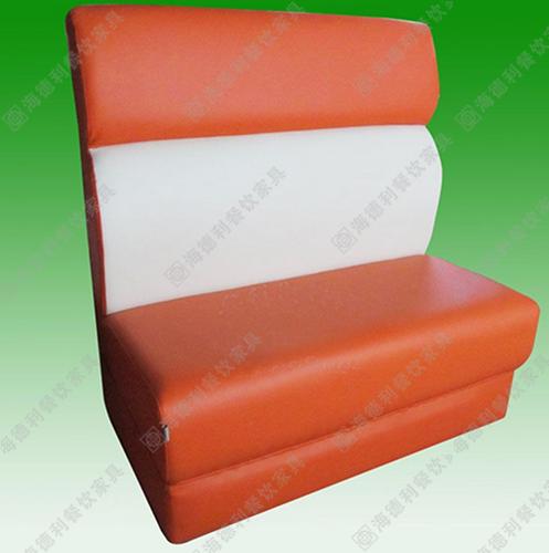 双人时尚卡座沙发 户外休闲沙发中式茶餐厅卡座沙发