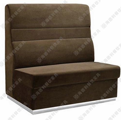 火锅店双人沙发 西餐厅沙发 时尚卡座沙发