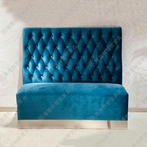 欧式西餐厅卡座沙发 火锅店时尚简约沙发