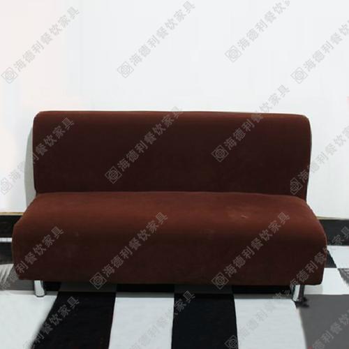 中式茶餐厅休闲沙发 时尚简约卡座沙发 火锅店双人沙发