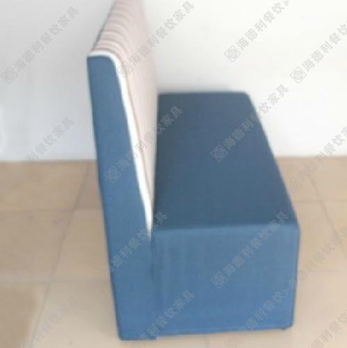 新款美式高靠背椅咖啡餐厅沙发单双三人沙发椅奶茶店卡座布艺沙发