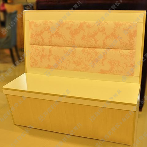 料理店布艺沙发 双人卡座咖啡厅沙发店铺沙发酒店休闲沙发 火锅店双人沙发