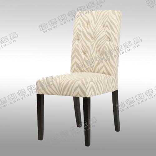 宾馆休闲酒店餐椅 欧式实木椅子 酒店客房会所实木椅