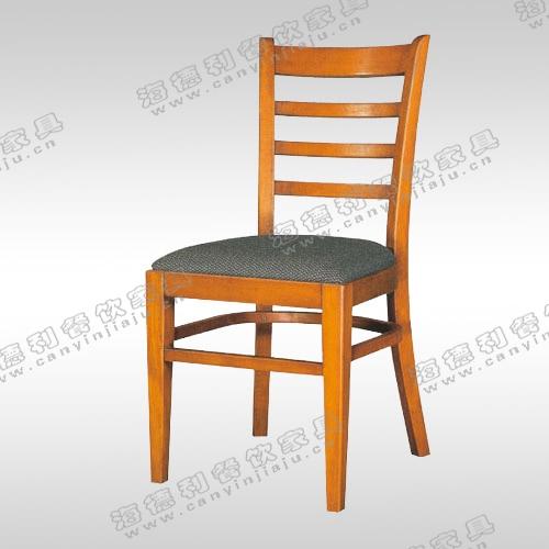 实木餐厅椅子 现代胡桃木西餐厅餐椅 白色咖啡厅甜品店软包椅