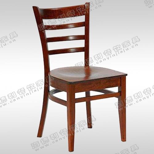 火锅店餐桌椅 火锅吧椅图片 简约实木餐椅