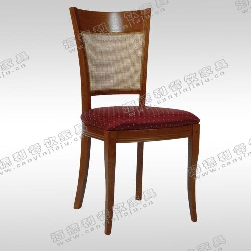 火锅电磁炉餐桌椅 田园风格实木餐椅