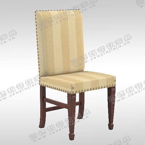 欧式餐椅实木美式扶手椅皮质雕花咖啡椅麻将椅洽谈皮椅子