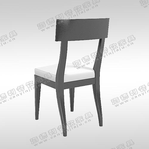 北欧宜家时尚简约实木餐椅创意 水曲柳原木PU皮韩式写字看书椅子