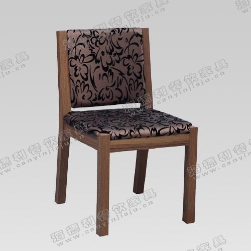 厂家直销火锅店牛角椅 北欧风格实木火锅餐椅 简约实木餐椅