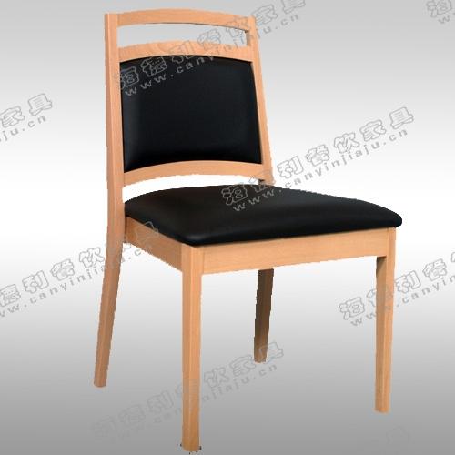 实木火锅椅 韩式田园现代简约实木布艺象牙白色酒店特价椅子