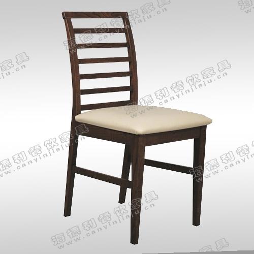 厂家直销 定做美式餐厅专用餐椅 天然实木沙发椅