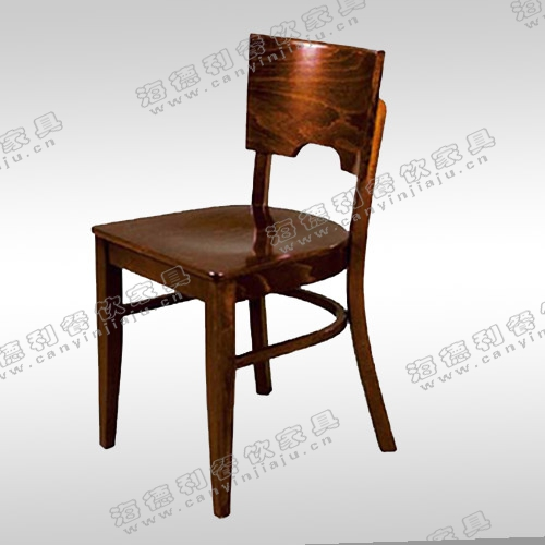 实木餐椅 中式餐桌椅餐厅橡木椅子 靠背椅白色凳子