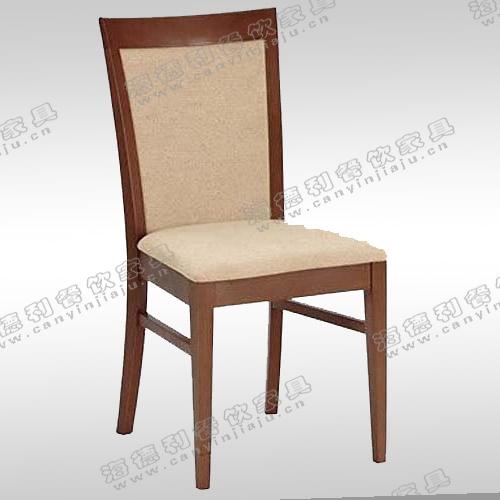 实木餐桌椅 休闲椅布艺靠背椅子 欧式田园休闲餐椅