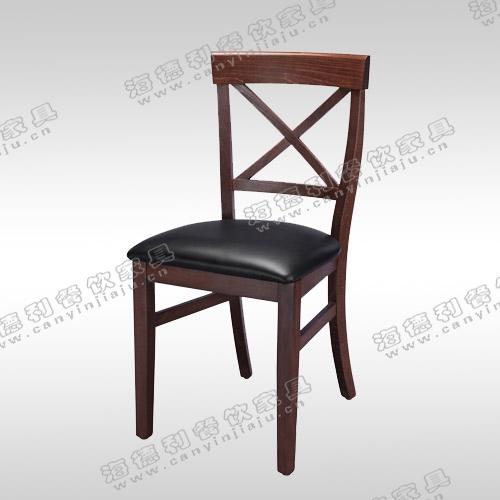 工艺餐椅子餐厅组合高靠背咖啡现代实木椅子