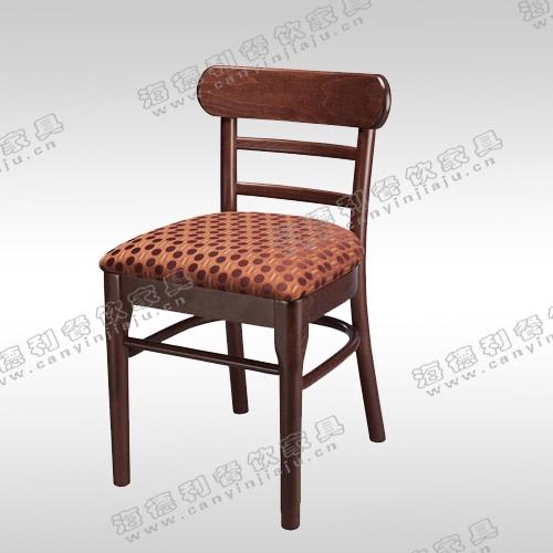 欧式餐椅新古典餐椅实木椅子酒店售楼处样板间洽谈椅子厂家定制