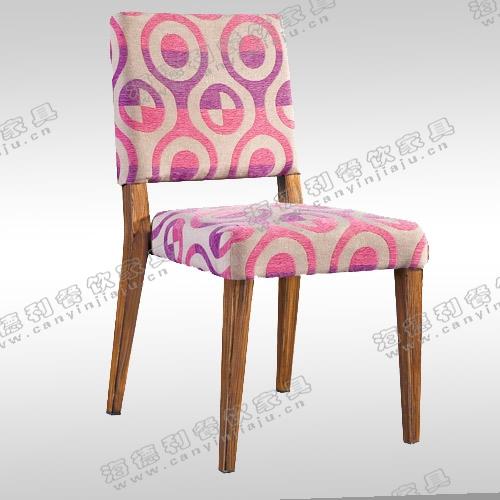 北欧实木餐椅子 咖啡餐椅 水曲柳餐椅 宜家胡桃木餐椅酒店会所椅