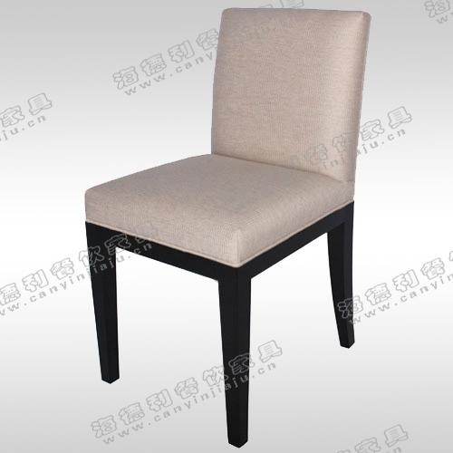 火锅店牛角椅 实木餐椅 时尚中式简约餐厅餐桌椅 现代创意椅子