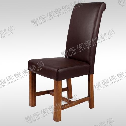 欧式餐椅 实木椅子靠背酒店餐厅家具办公椅书椅书桌椅软垫
