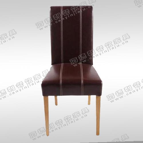 新中式 简约 实木后现代餐椅 韩式 德庄火锅店酒店椅