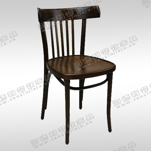 肯尼迪明椅 实木餐椅经典大师设计总统椅现代火锅店实木椅子