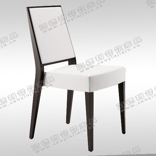 高档全实木餐椅 带扶手北欧现代简约餐椅 酒店火锅店工程定制椅子
