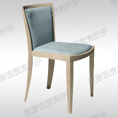 实木餐椅 美式风格仿古咖啡色楸木特价餐桌椅子 火锅店椅子