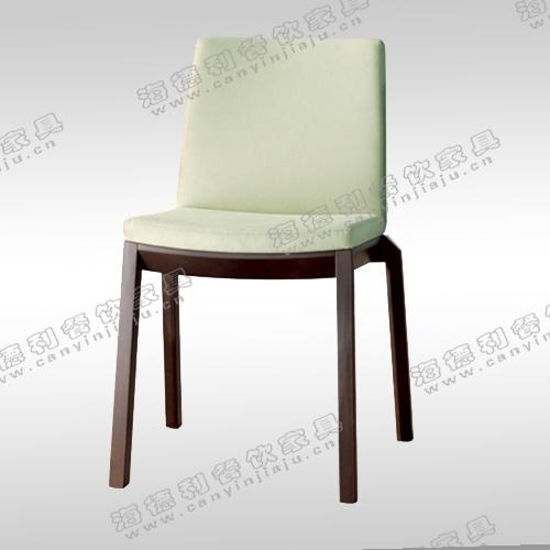 实木餐椅时尚简约高档出口黑色水曲柳火锅店椅子