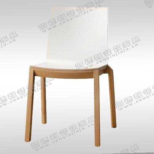 火锅店实木餐椅简约书房椅单人餐桌椅现代扶手椅子时尚靠背软包木椅