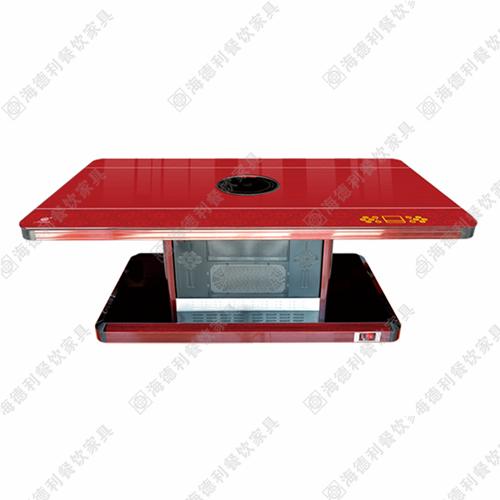 火锅桌厂家直销钢化玻璃火锅桌电磁炉火锅桌燃气灶火锅桌特价