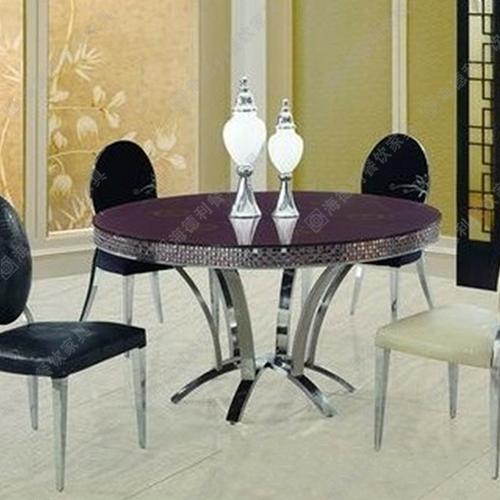 火锅店火锅桌子 电磁炉火锅桌 不锈钢火锅桌