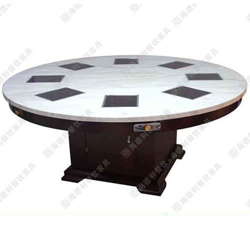厂家直销火锅桌实木火锅桌餐厅用火锅