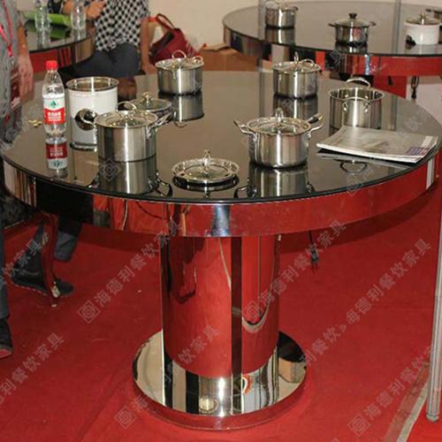 厂家直销电磁炉大理石钢化玻璃不锈钢火
