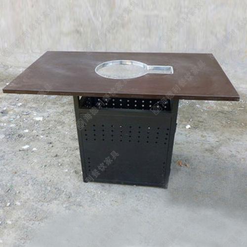 特价销售防火板无烟火锅桌大理石火锅桌烧烤火锅一体桌电磁炉火锅桌