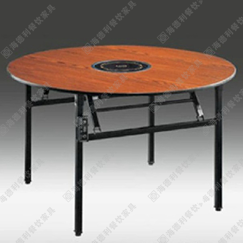 厂家定制批发无烟火锅桌椅 电池炉液化气煤气灶实木柜式火锅桌