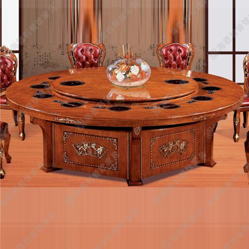 火锅桌 韩式烧烤桌 火锅烧烤一体桌 烤涮一体桌 无烟自助烧烤桌