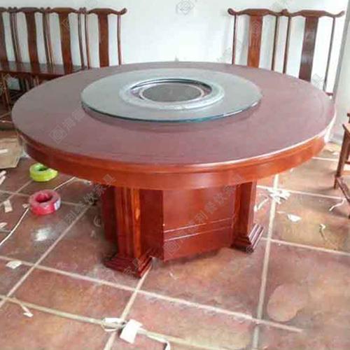 火锅桌厂家直销 电磁炉火锅桌 实木火锅桌 煤气火锅桌 火锅桌椅