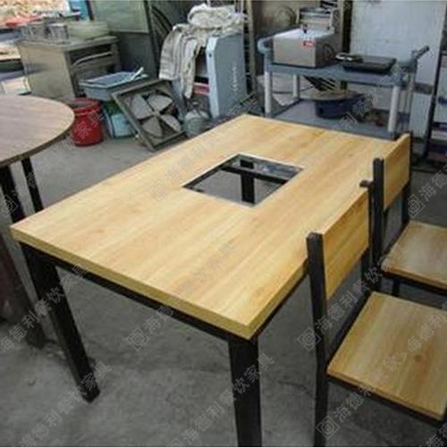 火锅桌椅 火锅餐厅桌椅 电磁炉火锅桌椅 火锅店桌椅组合